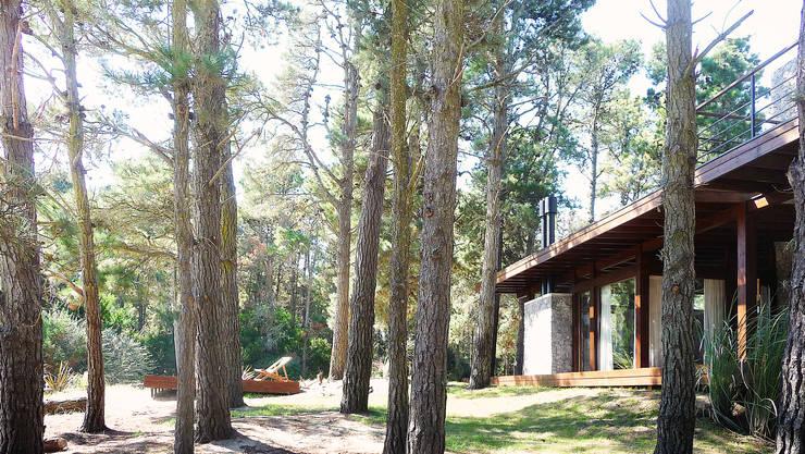 Casa Mar de las Pampas: Casas de estilo  por CRF Arquitectos,