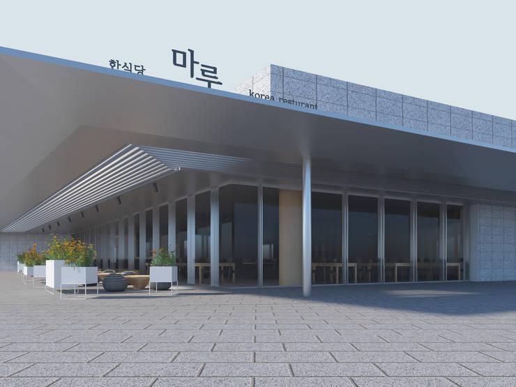 식음공간-국립중앙박물관: DB DESIGN Co., LTD.의  ,