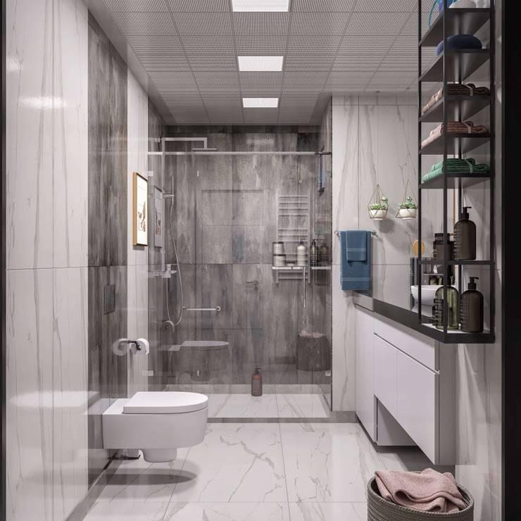 ANTE MİMARLIK  – Banyo tasarımı:  tarz Banyo