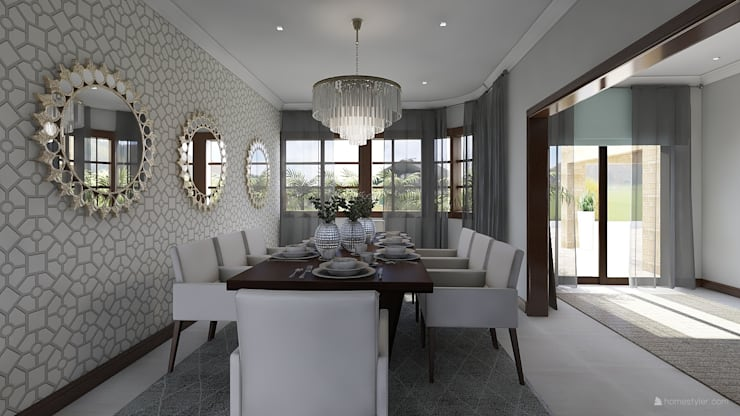 Dining room by CKW Lifestyle