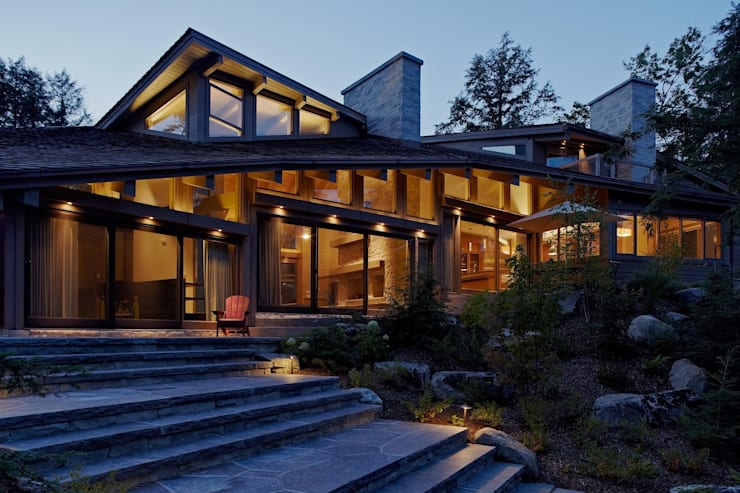 Contemporary Cottages in Ontario:  Houses by Trevor McIvor Architect Inc