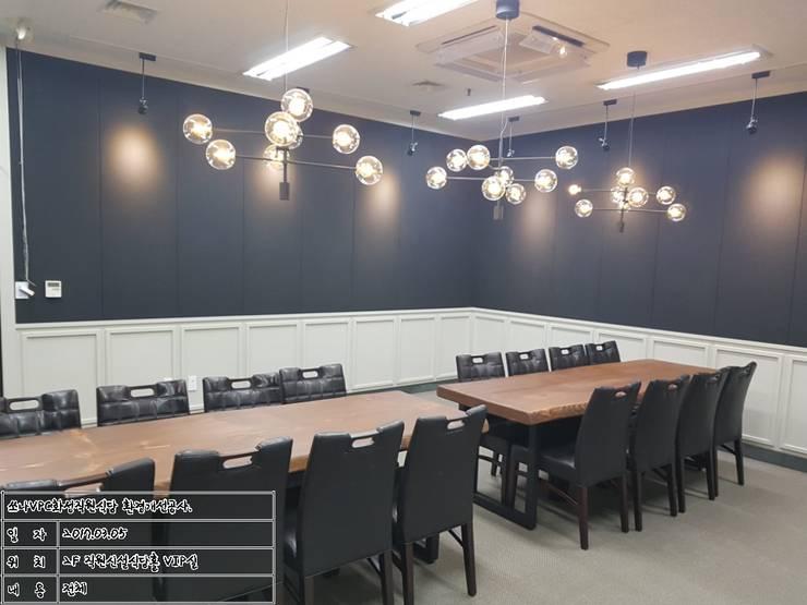 식음공간-쏘나브이피씨 화성: DB DESIGN Co., LTD.의  레스토랑