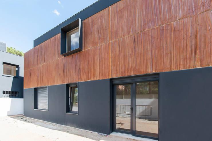 Diseño de fachada: Casas de estilo  de MODULAR HOME,