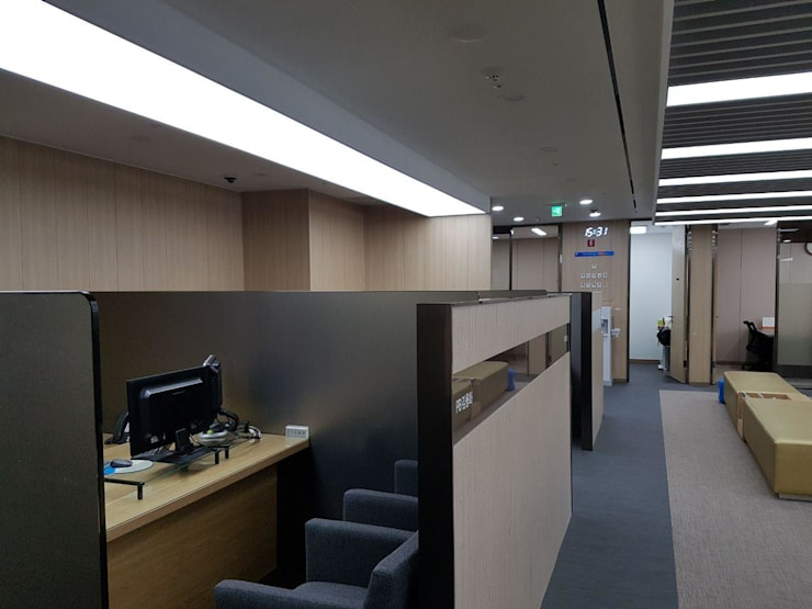 Modern offices & stores by DB DESIGN Co., LTD. Modern