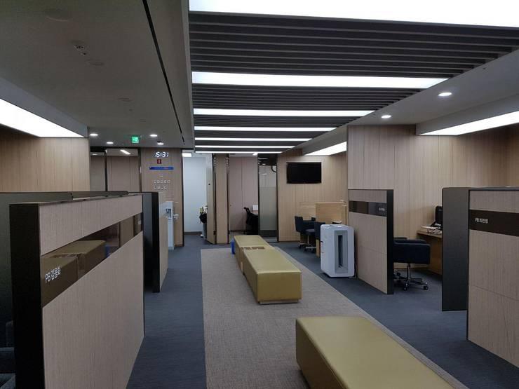 사무실-유안타증권 안산: DB DESIGN Co., LTD.의  사무실,