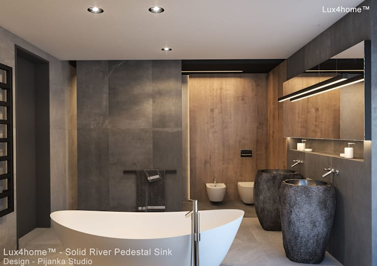 Bathroom by Lux4home™ Indonesia, Mediterranean