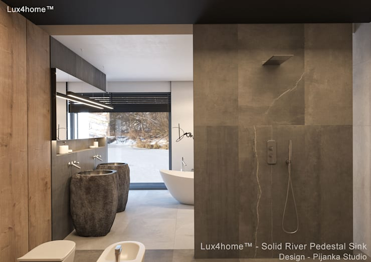 Bathroom by Lux4home™ Indonesia, Modern