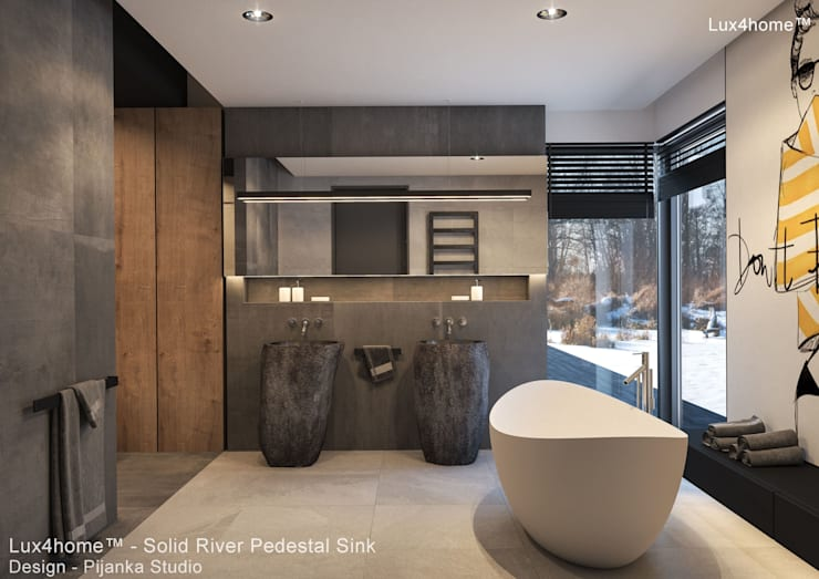 Bathroom by Lux4home™ Indonesia, Minimalist