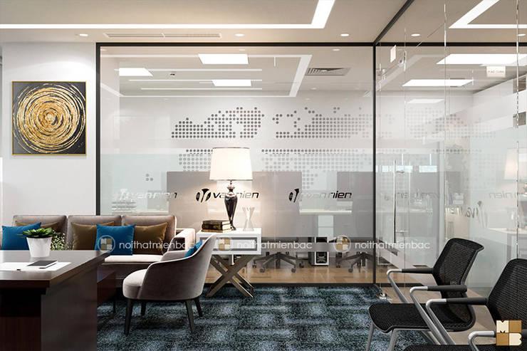 Offices & stores by Công ty CP nội thất Miền Bắc, Modern