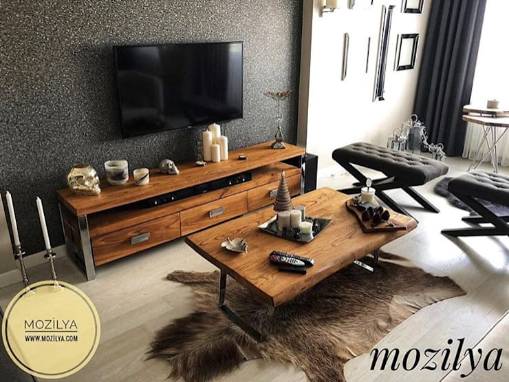 Mozilya Mobilya – Rokko Tv Sehpası:  tarz Oturma Odası