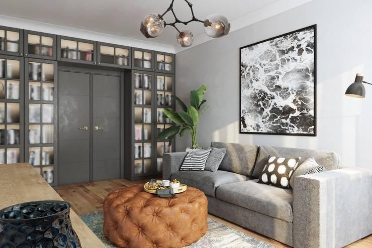 Salas de estilo  por Levitorria