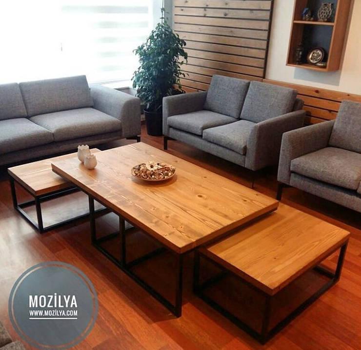 Mozilya Mobilya – Compact Orta Sehpa:  tarz Oturma Odası