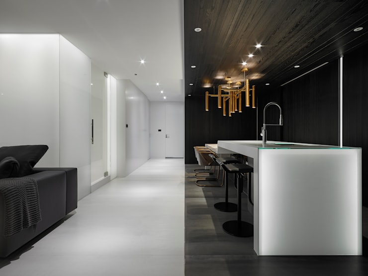走廊:  走廊 & 玄關 by Nestho studio