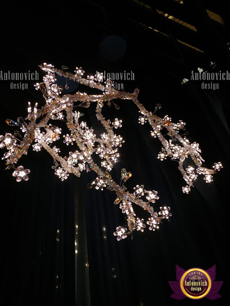 Lighitng Design Elegance:   by Luxury Antonovich Design