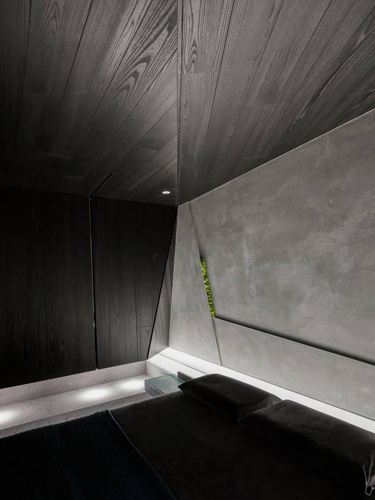 主臥室:  臥室 by Nestho studio