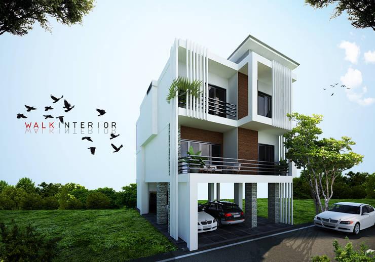 home 8:  บ้านเดี่ยว by interir design work