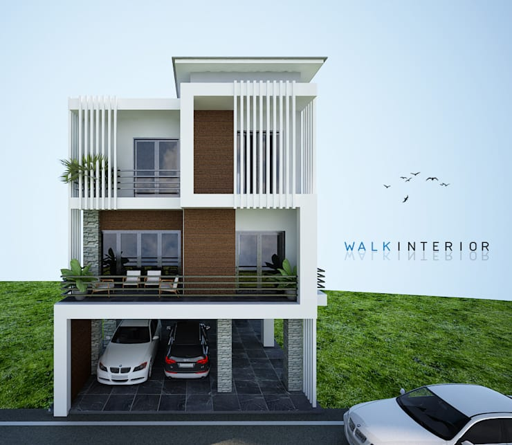 home 9:  บ้านเดี่ยว by interir design work