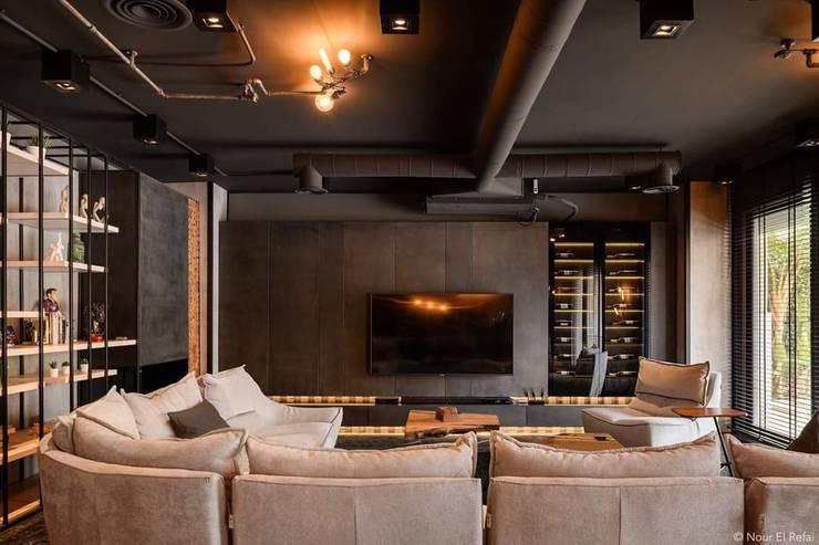 دوبليكس فى التجمع الخامس من lifestyle_interiordesign صناعي