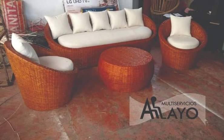 Mueble de terraza:  de estilo  por Multiservicios ALAYO,