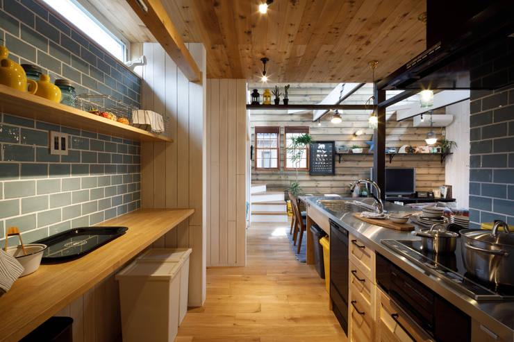 Kitchen units by dwarf, Rustic