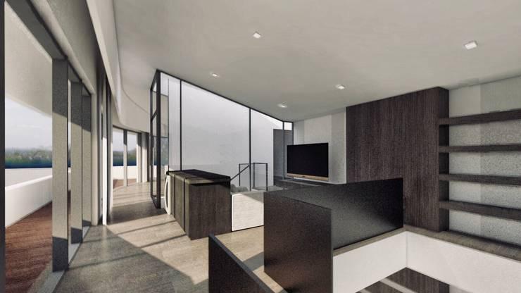 記錄生活的住宅 – 漫步蘭陽:  房子 by 行一建築 _ Yuan Architects