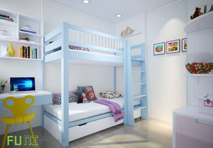 Phòng ngủ trẻ em:  Bedroom by Công Ty TNHH Funi