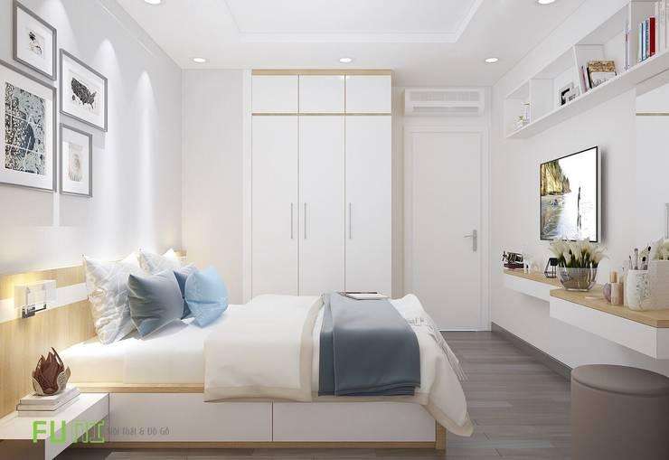 Giường ngủ đẹp:  Bedroom by Công Ty TNHH Funi