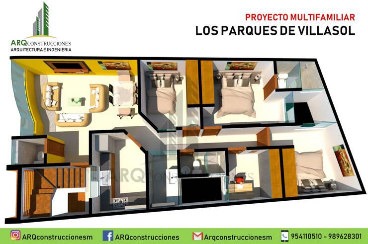 PARQUES DE VILLASOL de ARQconstrucciones
