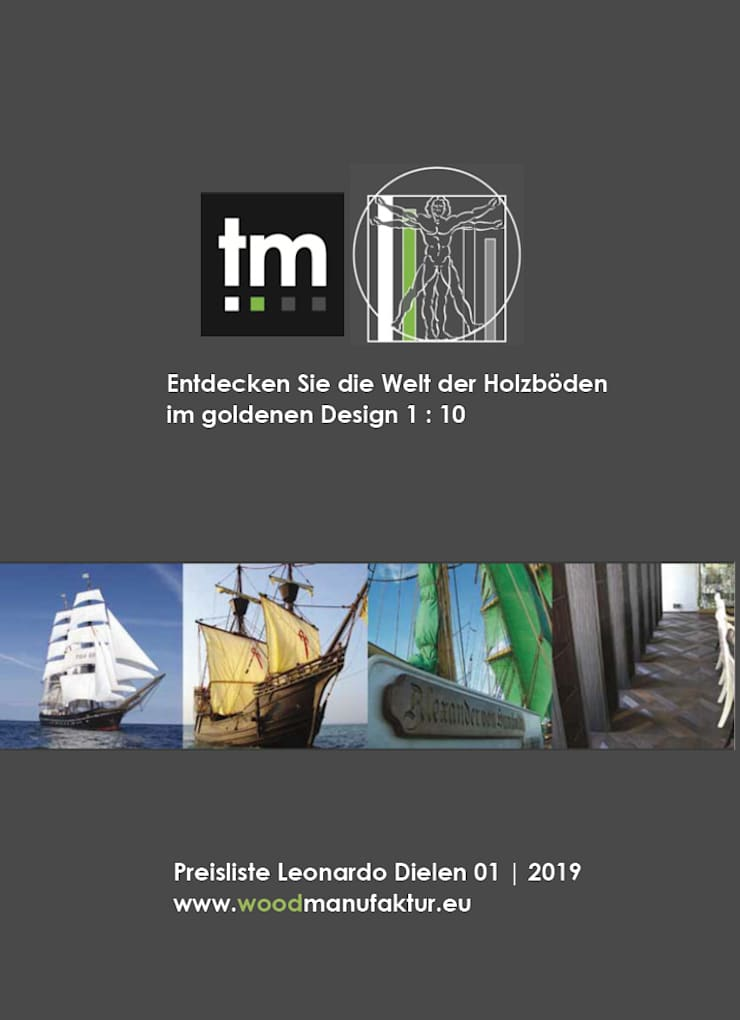 Planchers de style  par Holz + Floor GmbH | Thomas Maile | Innovative Bodensysteme seit 1997