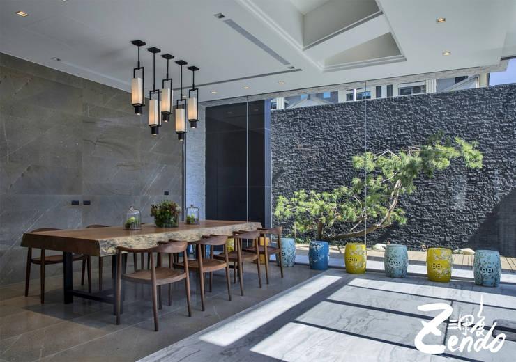層峰:  餐廳 by Zendo 深度空間設計
