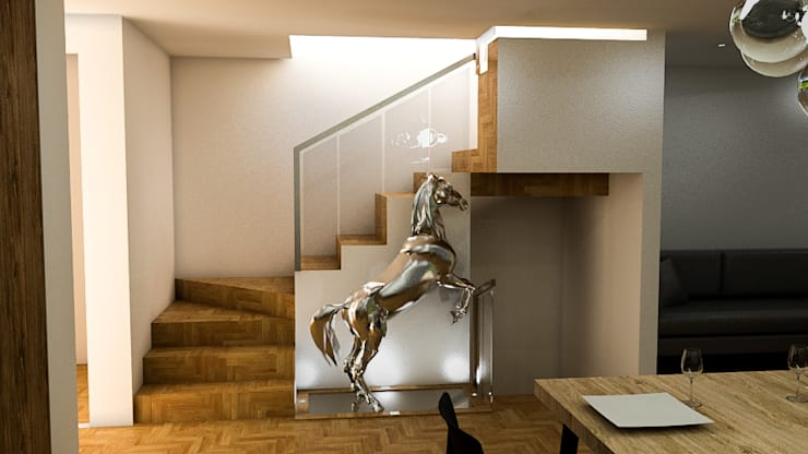 Stairs by Sixty9 3D Design, Modern