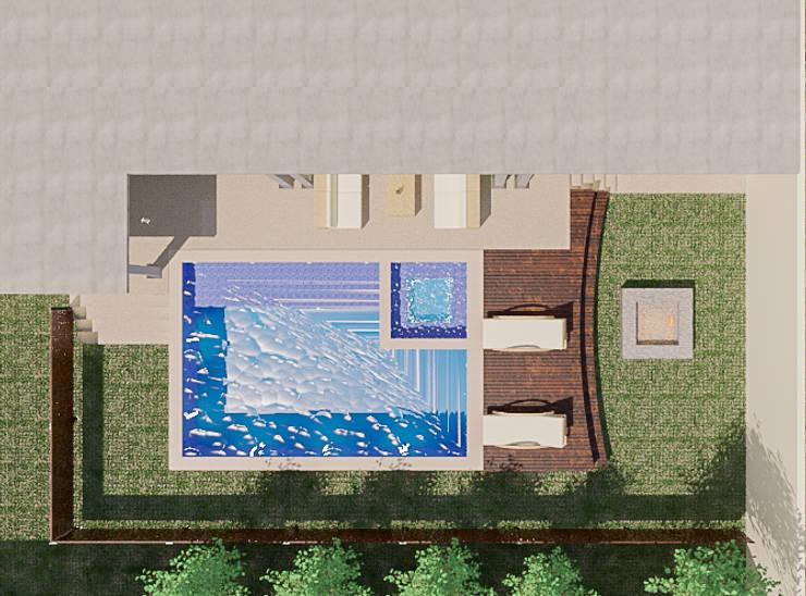 Pool by Sixty9 3D Design, Modern