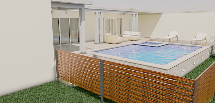 Hot Tubs by Sixty9 3D Design, Modern