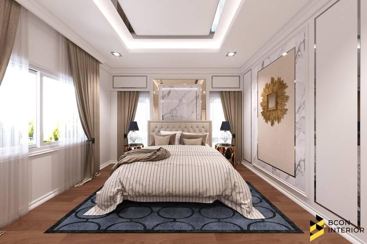 ผลงานการออกแบบตกแต่งภายในบ้านพักอาศัย:  ตกแต่งภายใน by Bcon Interior