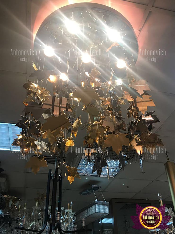 Amazingly Creative Chandelier Designs:   by Luxury Antonovich Design