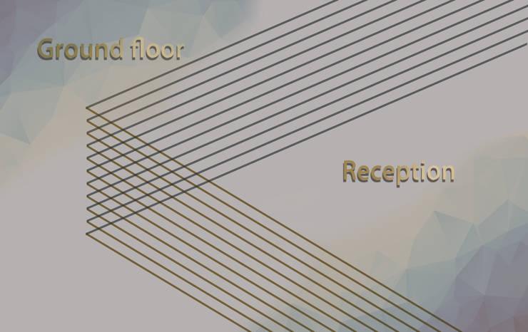 شقة الدقي:  تصميم مساحات داخلية تنفيذ Art Attack