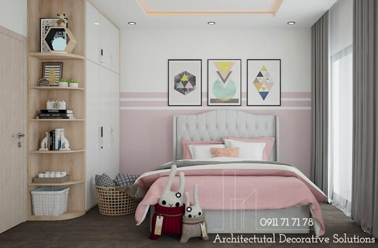 Nội Thất Phòng Ngủ:  Bedroom by Deco Việt