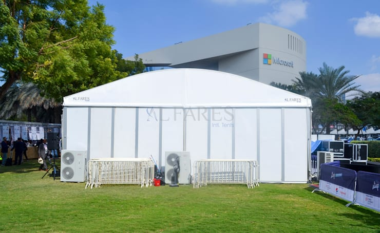 Arch Tents by Al Fares Intl Tents:  Garage/shed by Al Fares International Tents