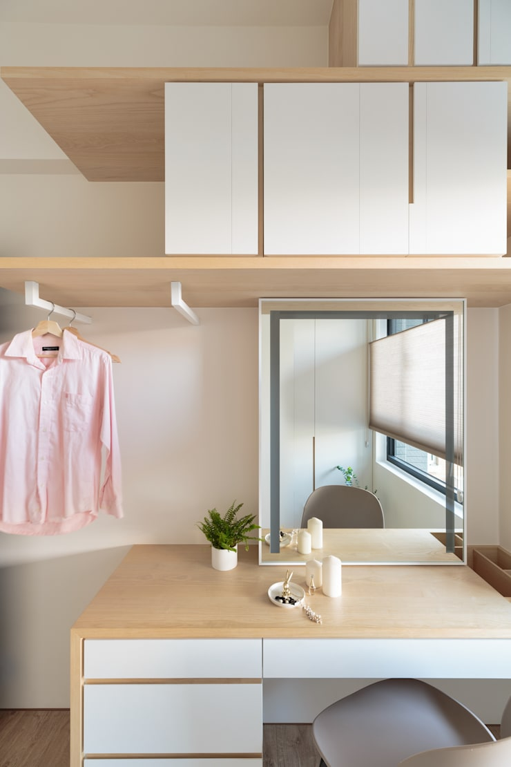 Dressing room by Moooi Design 驀翊設計, Scandinavian