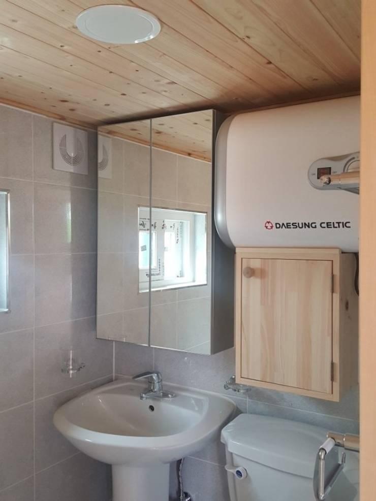 풍경채(내부): 풍경우드테크의  욕실,