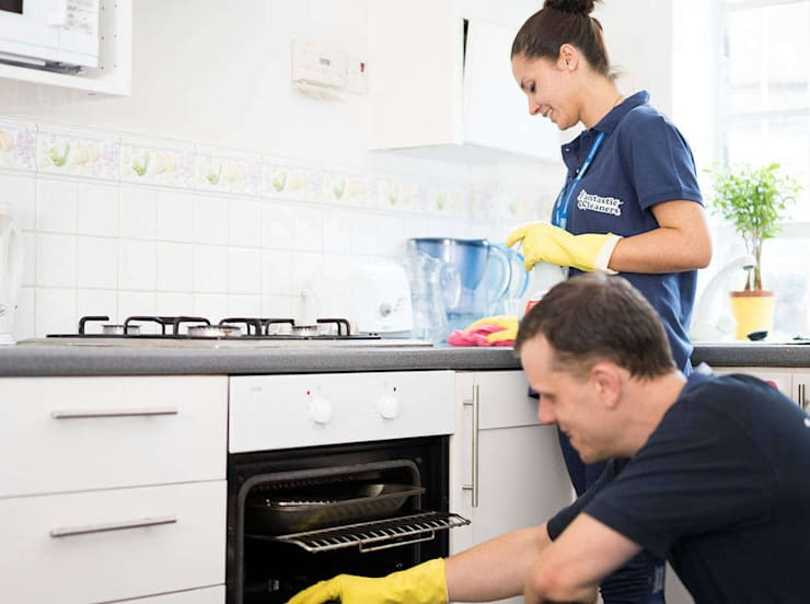Move Out Cleaning Service:  Kitchen by Fantastic Cleaners Melbourne