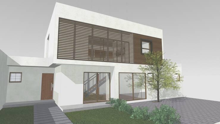 CASA CERRO SOMBRERO (EN CONSTRUCCION):  de estilo  por COMPONENTE