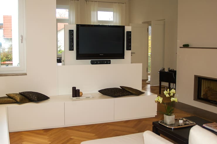 Living room by Innenarchitektur Olms, Modern