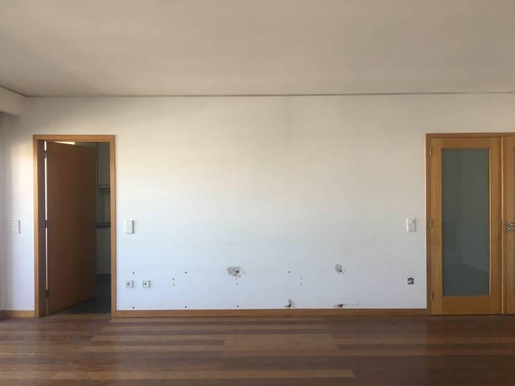 Remodelação integral de apartamento Boavista – Porto:   por MOBEC