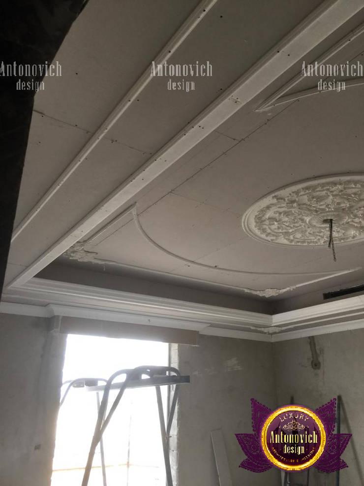 Gypsum Decoration For Homes:   by Luxury Antonovich Design