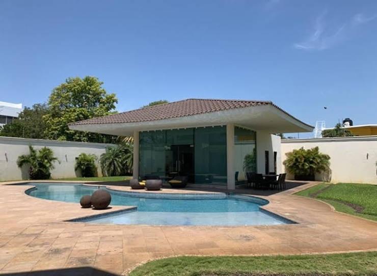 par SG Huerta Arquitecto Cancun Méditerranéen Tuiles