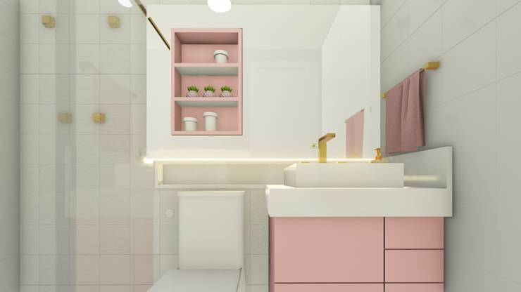 Baños de estilo  por Joana Rezende Arquitetura e Arte