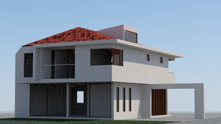 Imagen Objetivo: Casas de estilo  por MSGARQ