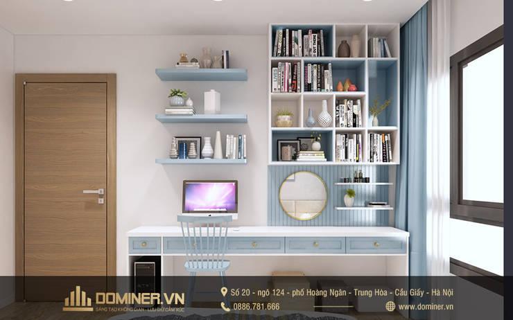 Phòng ngủ bé gái:   by Thiết kế - Nội thất - Dominer