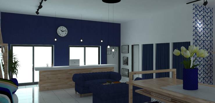 PROYECTO DE LOCAL COMERCIAL:  de estilo  por Acosta Arquitecta,Moderno
